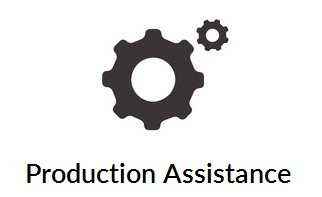 Production assistance icon